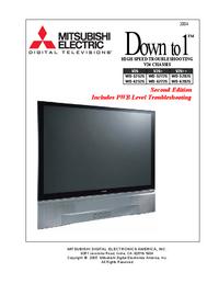Manual de serviço Mitsubishi WD-52725