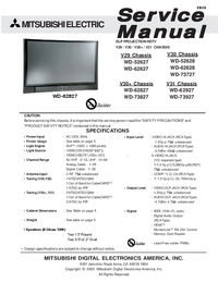 Service Manual Mitsubishi V31