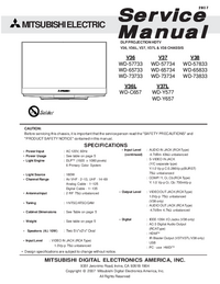 Service Manual Mitsubishi V37
