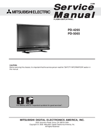 Mitsubishi-2985-Manual-Page-1-Picture