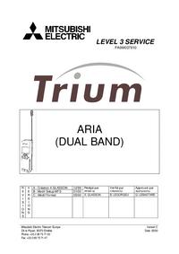 Manual de serviço Mitsubishi Trium Aria