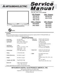 Service Manual Mitsubishi V39-