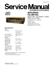 Manuale di servizio Mitsubishi MR587250