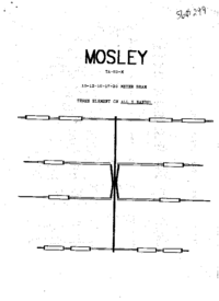Mosley-3826-Manual-Page-1-Picture