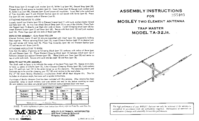 Manual del usuario Mosley Trap Master TA-32Jr