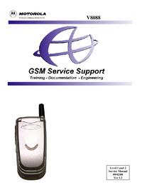 Manual de serviço Motorola V8088
