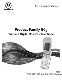Manual de servicio Motorola B65