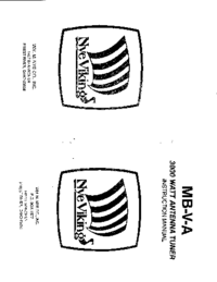 User Manual NYE MB-V-A