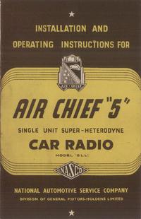 Manuale d'uso Nasco Air Chief 5