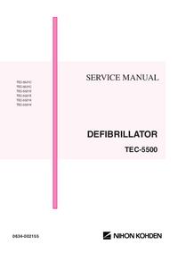 Руководство по техническому обслуживанию NihonKoden TEC-5531