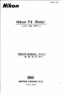 Manuale di servizio Nikon F2