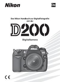 Manual del usuario Nikon D200