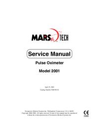 Manuale di servizio Novametrix Model 2001