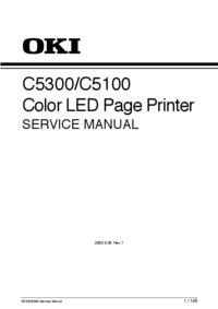 Service Manual Okidata C5100