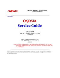 Okidata-2895-Manual-Page-1-Picture