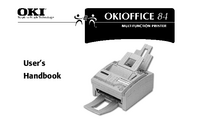 User Manual Okidata Okioffice 84