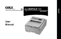 User Manual Okidata OKIPAGE 10e