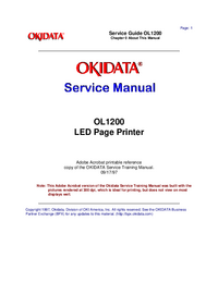 Okidata-2903-Manual-Page-1-Picture