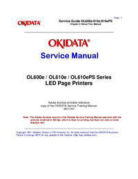 Okidata-2906-Manual-Page-1-Picture