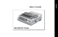 Manuale d'uso Okidata ML321 Turbo