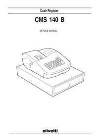 Instrukcja serwisowa Olivetti CMS-140B