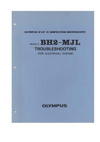 Manual de servicio Olympus BH2-MJL