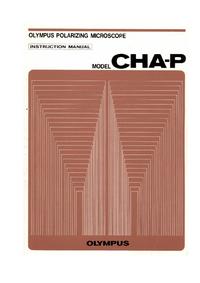 Manuel de l'utilisateur Olympus CHA-P