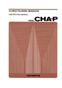 Bedienungsanleitung Olympus CHA-P