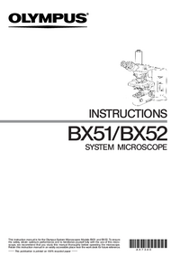 Manuale d'uso Olympus BX52