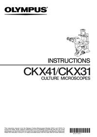 Gebruikershandleiding Olympus CKX31
