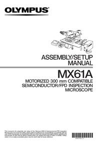 Manuale d'uso Olympus MX61A