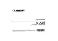 Руководство пользователя Olympus U-UCD8
