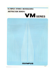 User Manual Olympus VM Series