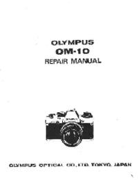Manual de servicio Olympus OM-10