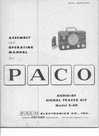 Manuel de l'utilisateur Paco Z-80
