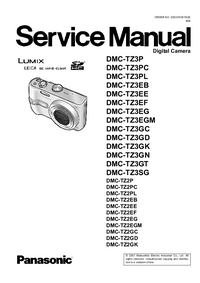 Service Manual Panasonic DMC-TZ3GN