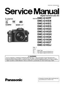 Serviceanleitung Panasonic DMC-G1KGH