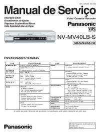 Manual de serviço Panasonic NV-MV40LB-S