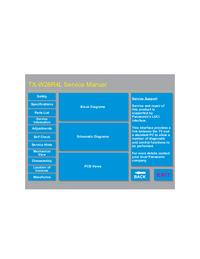 Manual de serviço Panasonic EURO4