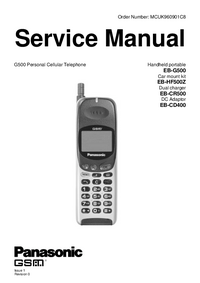 Service Manual Panasonic EB-G500