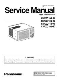 Service Manual Panasonic CW-XC124HU