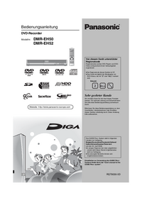 User Manual Panasonic DMR-EH52
