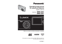 User Manual Panasonic DMC-ZS1