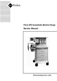 Penlon-10280-Manual-Page-1-Picture