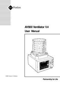 User Manual Penlon AV900