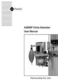 Bedienungsanleitung Penlon A200SP