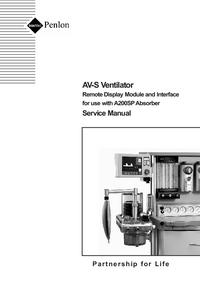 Instrukcja serwisowa Penlon AV-S