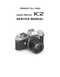 Instrukcja serwisowa Pentax K2 23602