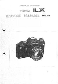 Servicehandboek Pentax ILX 24000