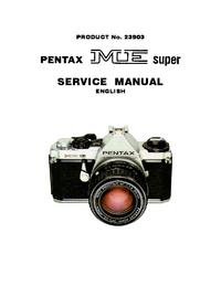 Manuale di servizio Pentax ME super 23903